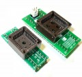 адаптеры 2 штуки PLCC32+44