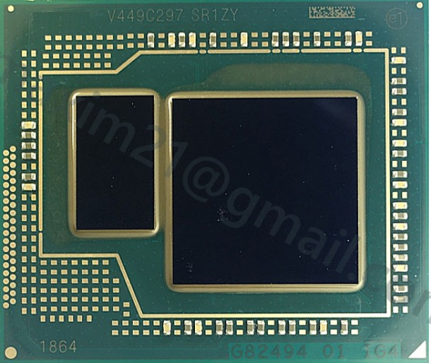 микросхема SR1ZW Intel Core i7-4770HQ