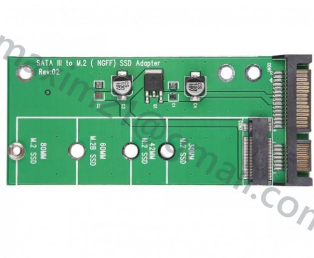 переходник SATA III to SSD M.2