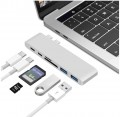Адаптер Type-C card reader + HUB for Apple MacBook