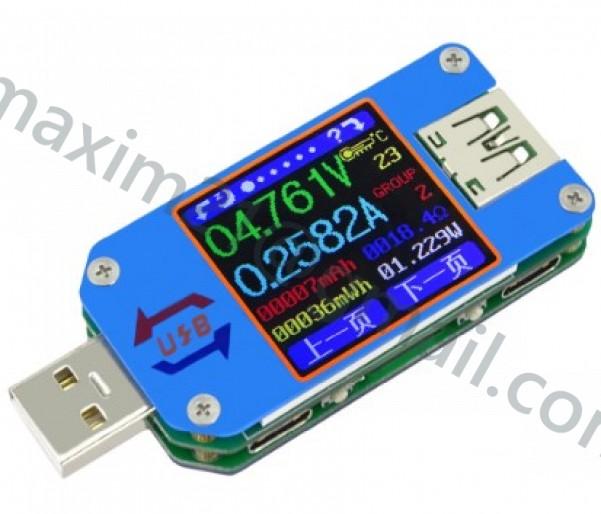 USB ТЕСТЕР USB+С RD UM25C