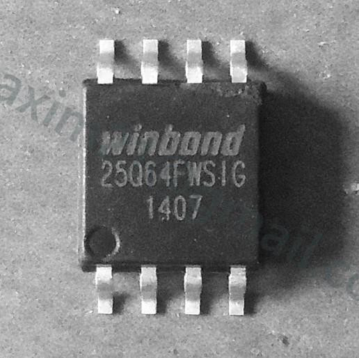 spi flash W25Q64FWSIG (1.8V)