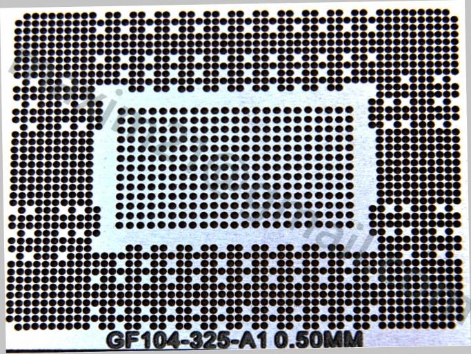 трафарет прямого нагрева GF104-325-A1 N12E-GTX2-A1