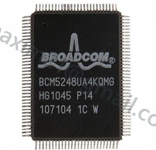 микросхема BCM5248UA2KQMG