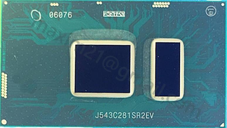 микросхема SR2EV (Intel Celeron 3855U)