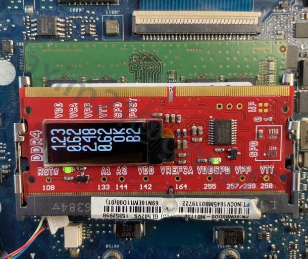VIK-on DDR4 Post card
