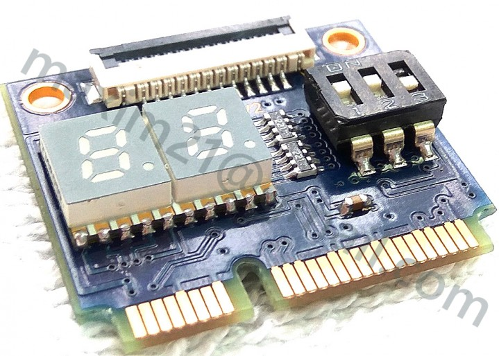 POST карта VERTYANOV mini PCI-E FULL