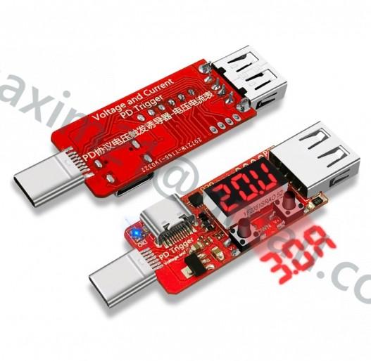 USB ВОЛЬТМЕТР PD-trigger P30