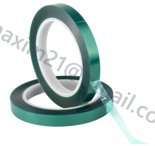 Термоскотч 12 mm зеленый полиамидный