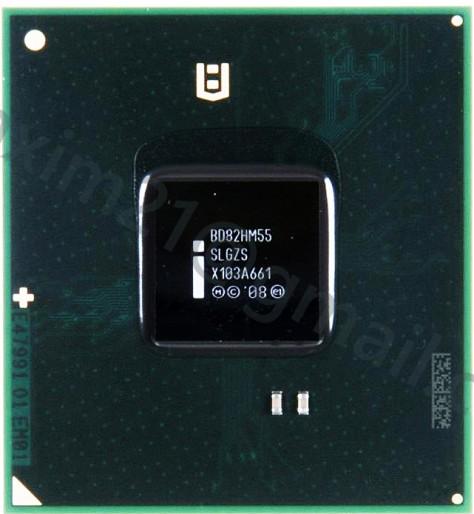 микросхема INTEL BD82HM55 (SLGZS)