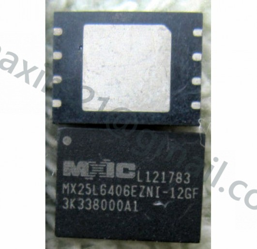 spi flash MX25L6406
