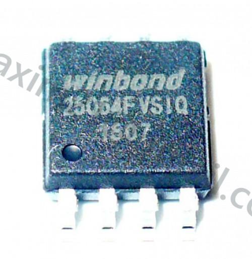spi flash W25Q64FVSIQ
