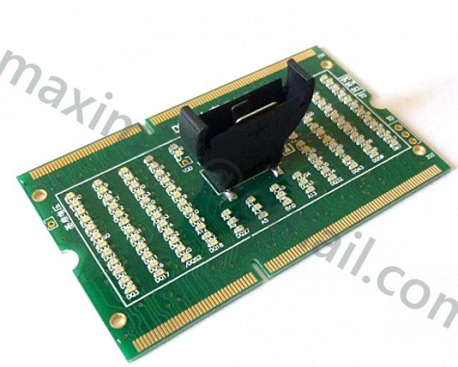 тестер слота DDR3 LED