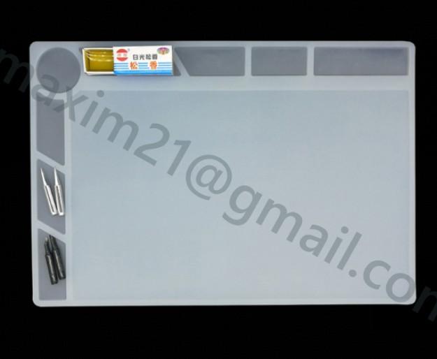 Коврик силиконовый 25*35 см белый