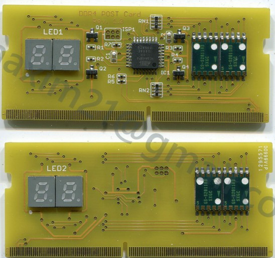 ASUS DDR4 PostCard