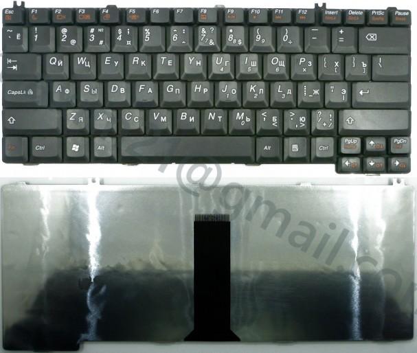Клавиатура Lenovo F41, Y430 черная