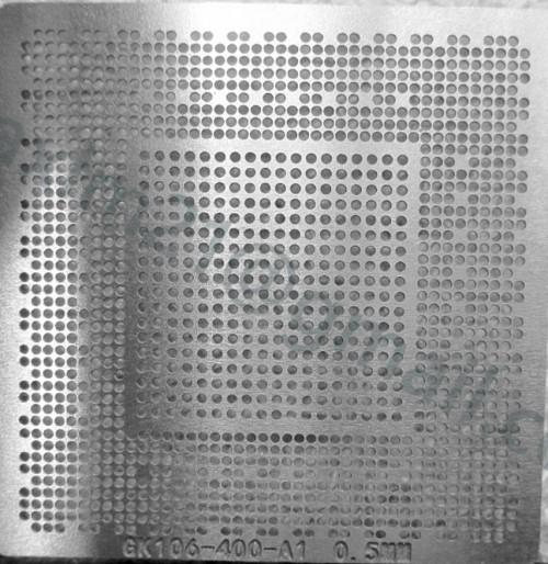трафарет прямого нагрева GK106-400