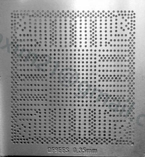 трафарет прямого нагрева CPU SR1W2, SR1W4 Q9EES