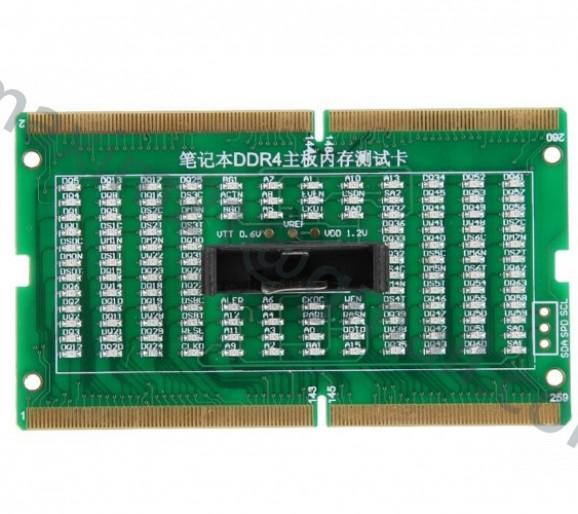 тестер слота DDR4 LED