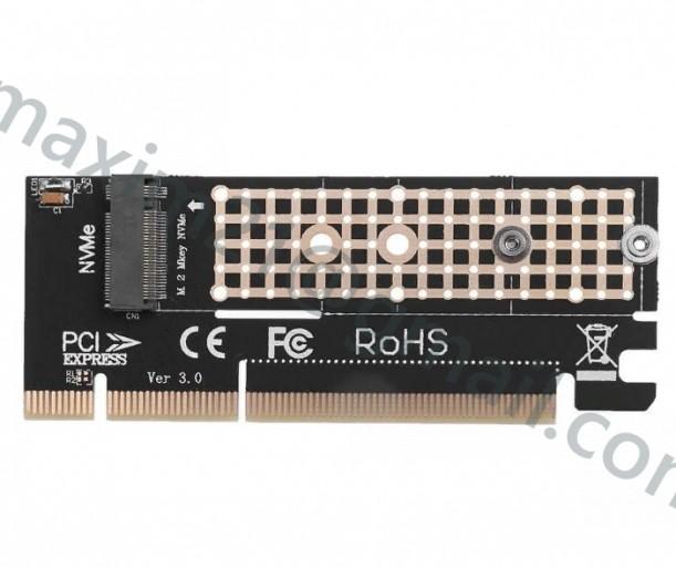 Адаптер PCI express 16x для M-Key M.2 SSD
