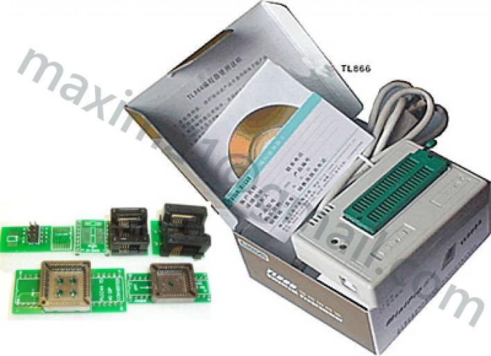 программатор TL866A + 6 панелек к нему