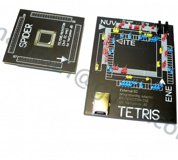адаптеры TETRIS + SPIDER (Vertyanov JIG)