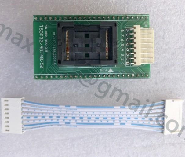 адаптер TSOP32/40/48/56 ZIF для программатора T56