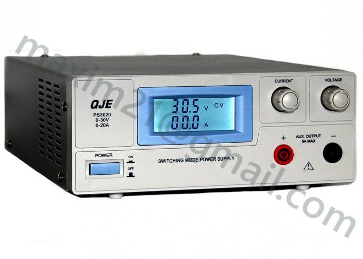 Блок питания лабораторный 30 вольт 20 ампер
