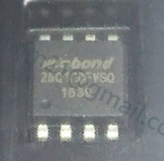 spi flash W25Q128FVSQ