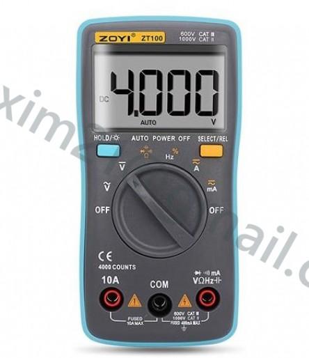 Мультиметр ZOTEK ZT-100