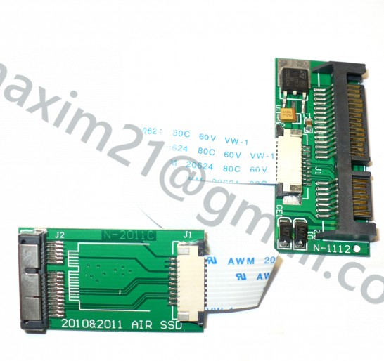 Converter Apple AIR 2010-11 SSD to SATA