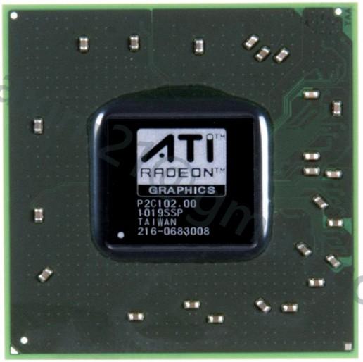 216-0683008 видеочип AMD Mobility Radeon HD 3650