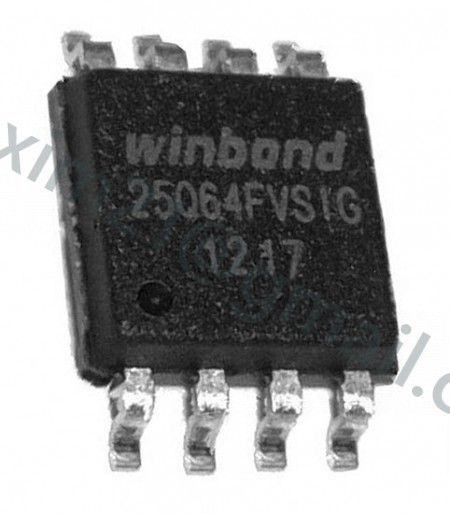 spi flash W25Q64FVSIG  3.3 V флэш память