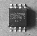 spi flash W25Q64FWSIG (1.8V)