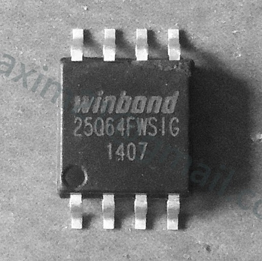 spi flash W25Q64FWSIG  1.8V флэш память