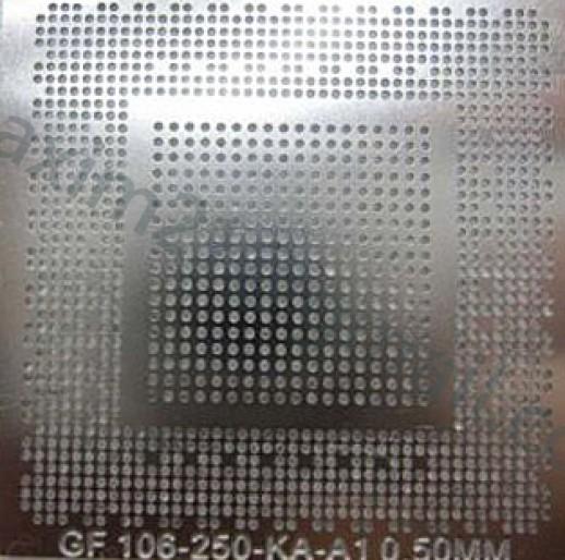трафарет прямого нагрева GF106-250