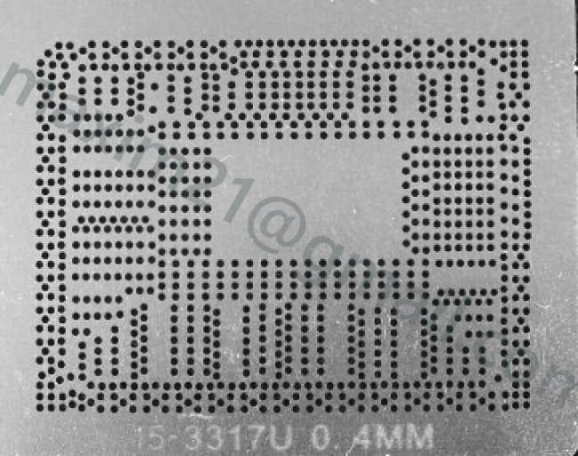 трафарет прямого нагрева I5-3317U