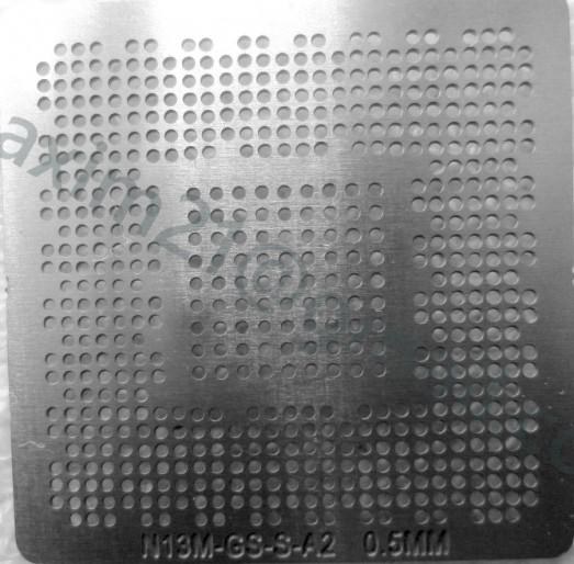 трафарет прямого нагрева (в размер чипа)  N13M-GS  N15V N15S N14M-GE