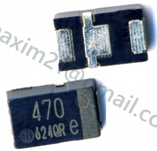 Конденсатор EEFLX0E471R4 470 мкФ, 2.5 В (10 шт)
