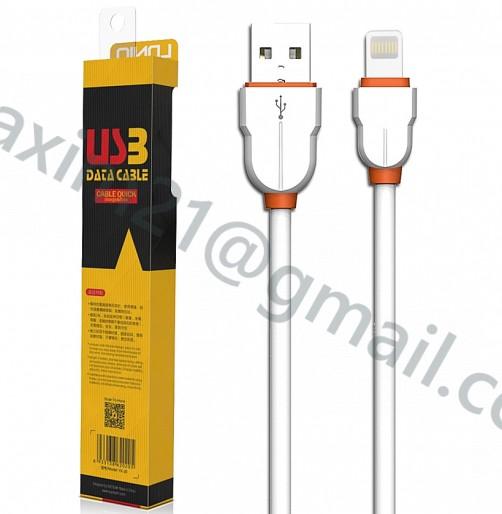 USB шнурок Lighting для зарядки APPLE