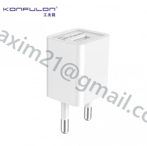 USB зарядка С22 5V / 1A KONFULON C22