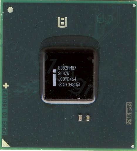микросхема INTEL BD82HM57 (SLGZR)