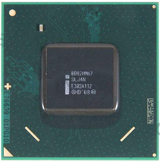 микросхема INTEL BD82HM67 (SLJ4N)