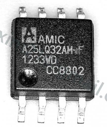 spi flash AMIC A25LQ32AM-F   флэш память