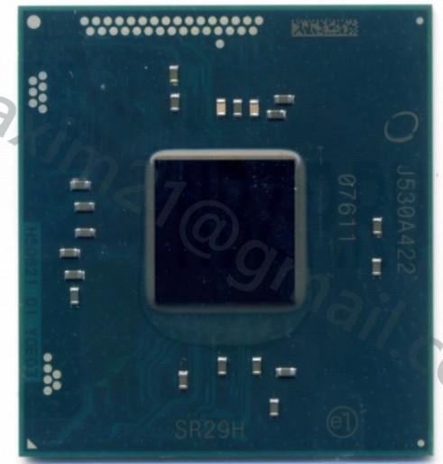 микросхема INTEL N3050 SR29H