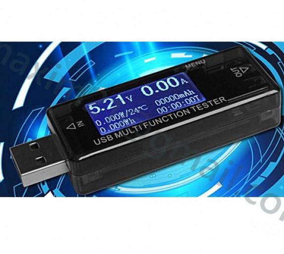 купить USB ВОЛЬТМЕТР АМПЕРМЕТР ТЕСТЕР KWS-MX16