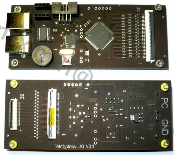 программатор 9012 + EDID + тестер клавиатур BOARD VER 3