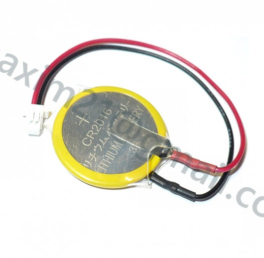 2-Pin CMOS BIOS Battery CR2016