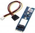 переходник M.2 NGFF to SATA III SSD 7 Pin Adapter Converter Board