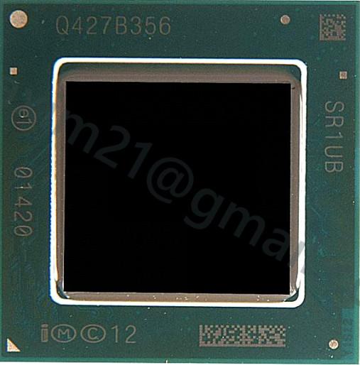 микросхема процессор Intel Atom Z3735F SR1UB